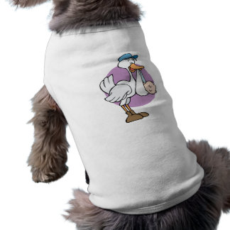 Stork With Baby Pet Clothes