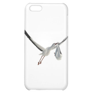 Stork with Bundle on White iPhone 5C Cover