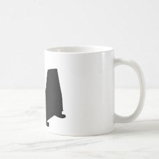 stork with new baby icon coffee mug