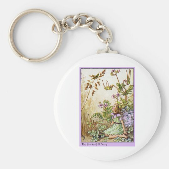 Storks Bill Fairy Keychain