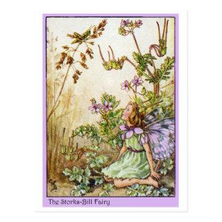 Storks Bill Fairy Postcard