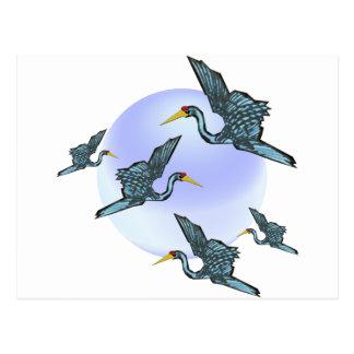 Storks Postcard