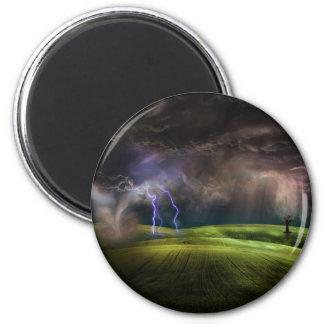 Storm 2 Inch Round Magnet