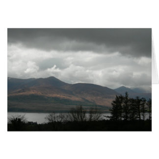 Storm a' Brewing, Lake Aghadoe (Blank) Card