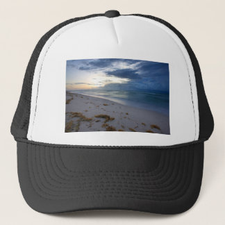 Storm Approaching Miami Beach Trucker Hat