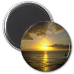 Storm Approaching Over Sea Refrigerator Magnets