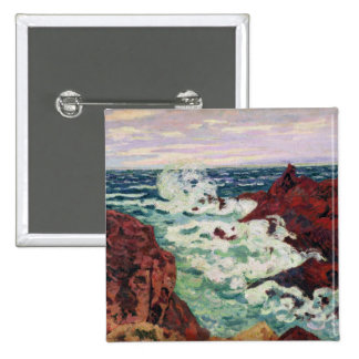 Storm at Agay, 1895 Button