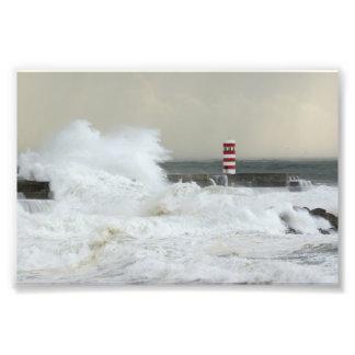 Storm at Foz Photo Print