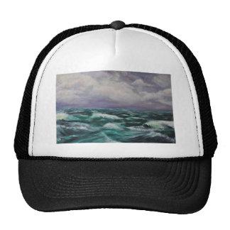 Storm at Sea Mesh Hat