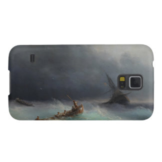 Storm at Sea Ivan Aivasovsky seascape waterscape Case For Galaxy S5