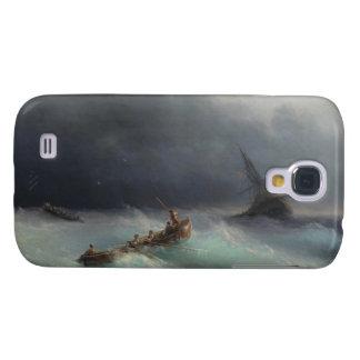 Storm at Sea Ivan Aivasovsky seascape waterscape Galaxy S4 Case