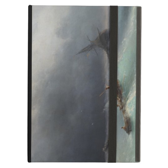 Storm at Sea Ivan Aivasovsky seascape waterscape Cover For iPad Air