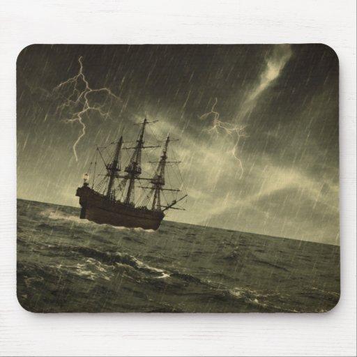 Storm at Sea Mousepad