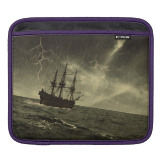 Storm at Sea Sleeves For iPads