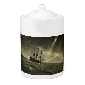 Storm at Sea Teapot