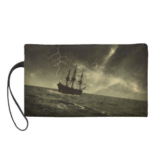 Storm at Sea Wristlet Purse