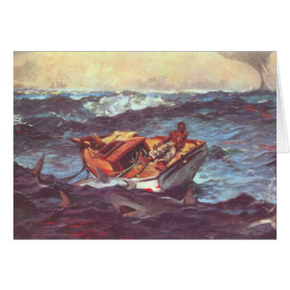 Storm by Winslow Homer Greeting Card