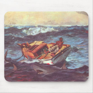 Storm by Winslow Homer Mouse Pad