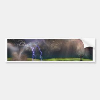 Storm Car Bumper Sticker