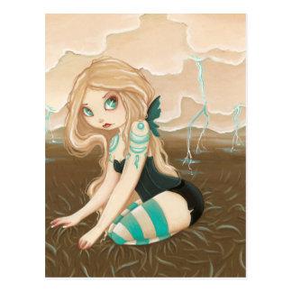 Storm Caster - Fairy postcard