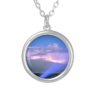 Storm_Catcher Silver Plated Necklace