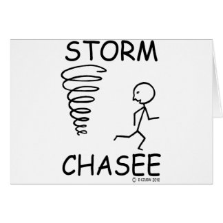 Storm Chasee Greeting Card