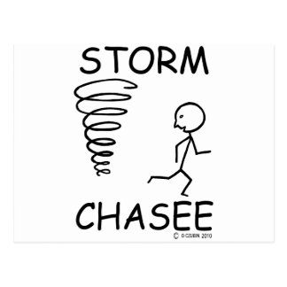 Storm Chasee Postcard