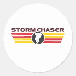 Storm Chaser 2 Classic Round Sticker