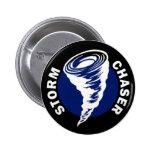 Storm Chaser 2 Inch Round Button