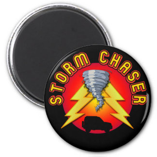 Storm Chaser 2 Inch Round Magnet