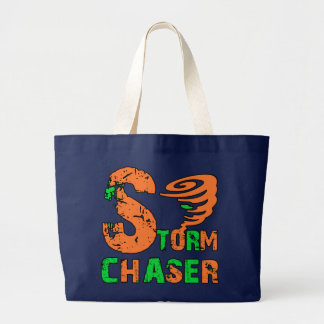 Storm Chaser Tote Bags
