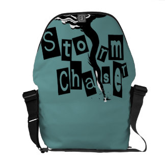Storm CHaser Box Letters Courier Bags