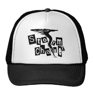 Storm CHaser Box Letters Trucker Hat