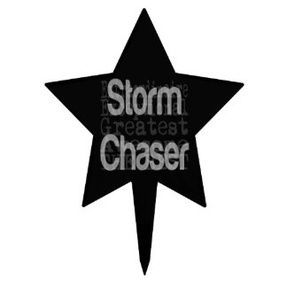 Storm Chaser Extraordinaire Cake Topper