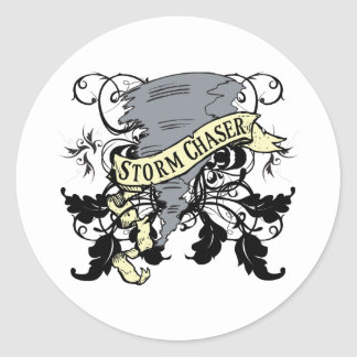 Storm Chaser Gifts Classic Round Sticker