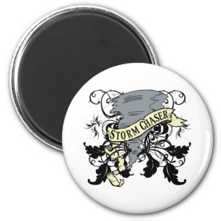 Storm Chaser Gifts 2 Inch Round Magnet