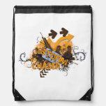 Storm Chaser Grunge Backpack Drawstring Bag Backpack