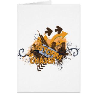 Storm Chaser Grunge Card