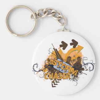 Storm Chaser Grunge Keychain