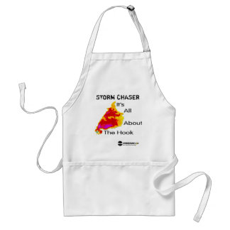 Storm Chaser - It's All About the Hook Adult Apron