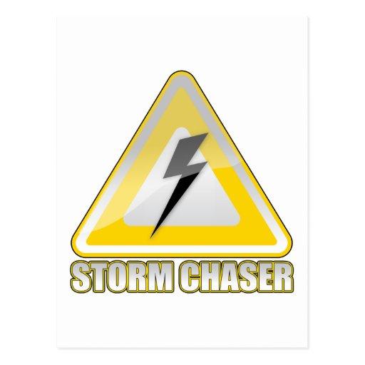 Storm Chaser Lightning 2 Postcard