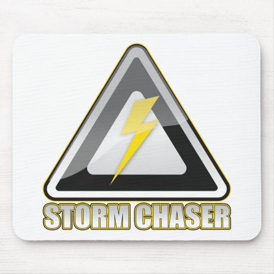 Storm Chaser Lightning Mouse Pad