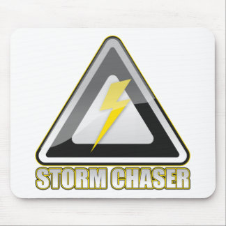 Storm Chaser Lightning Mouse Pads