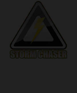 Storm Chaser Logo Warning Storm Chasers T-shirt