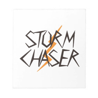 Storm Chaser Notepad