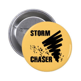 STORM CHASER PINBACK BUTTON