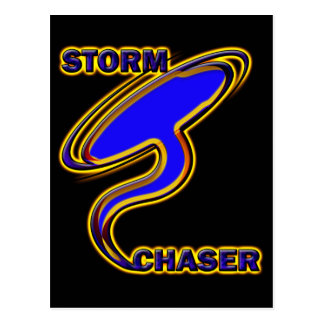 STORM CHASER POSTCARD