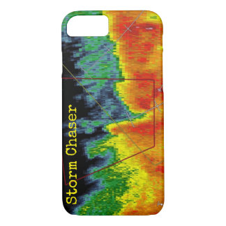 Storm Chaser Radar Image iPhone 7 Case