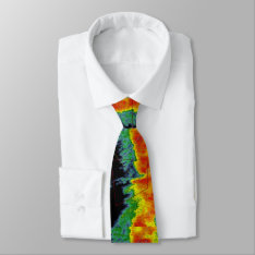 Storm Chaser Radar Image Tie at Zazzle