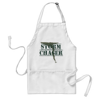 Storm Chaser Rubber Stamp and Funnel Adult Apron
